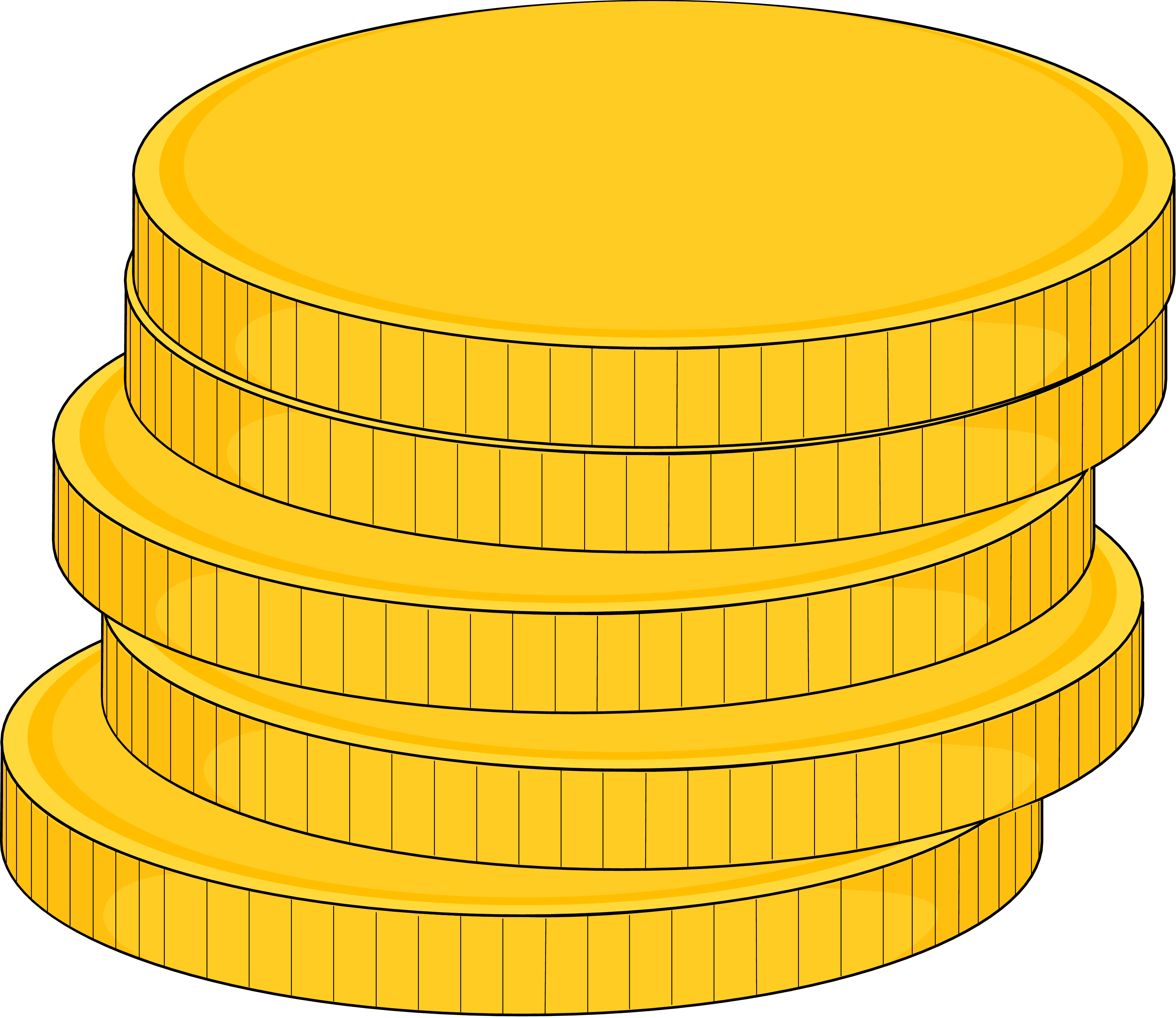 Money clipart cartoon. Coins frames illustrations hd