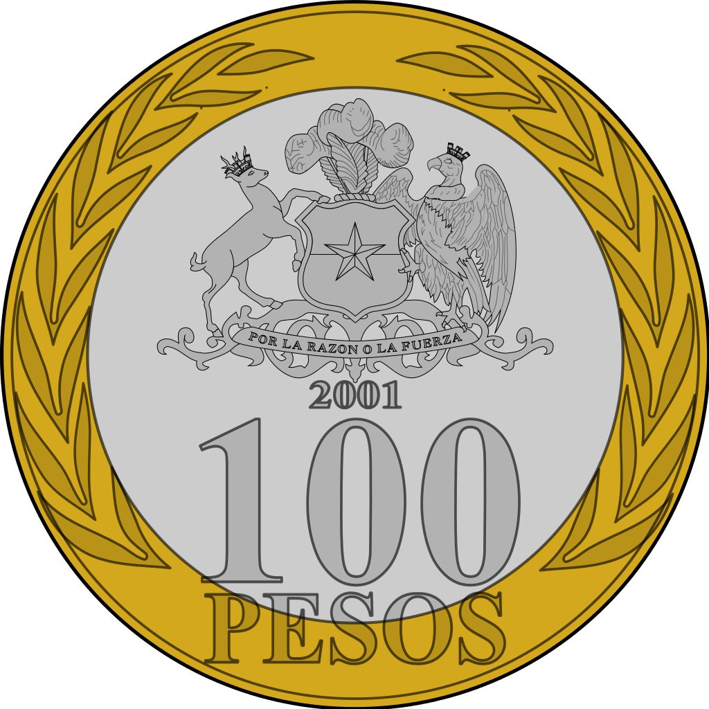 File clp svg wikimedia. Coins clipart peso coin
