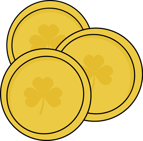 Free picture of coins. Coin clipart plain gold