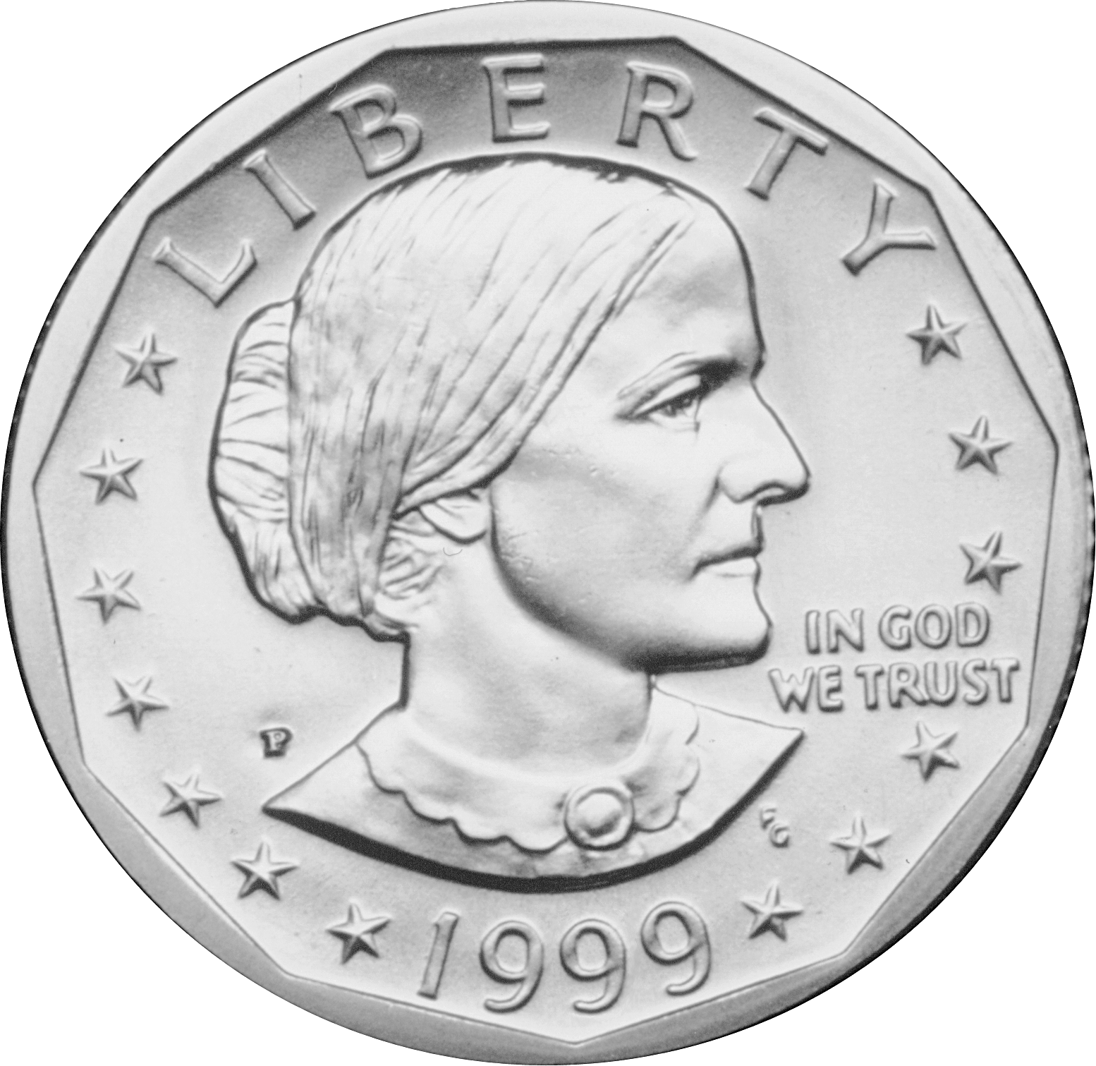 Coins clipart peso coin. Susan b anthony dollar