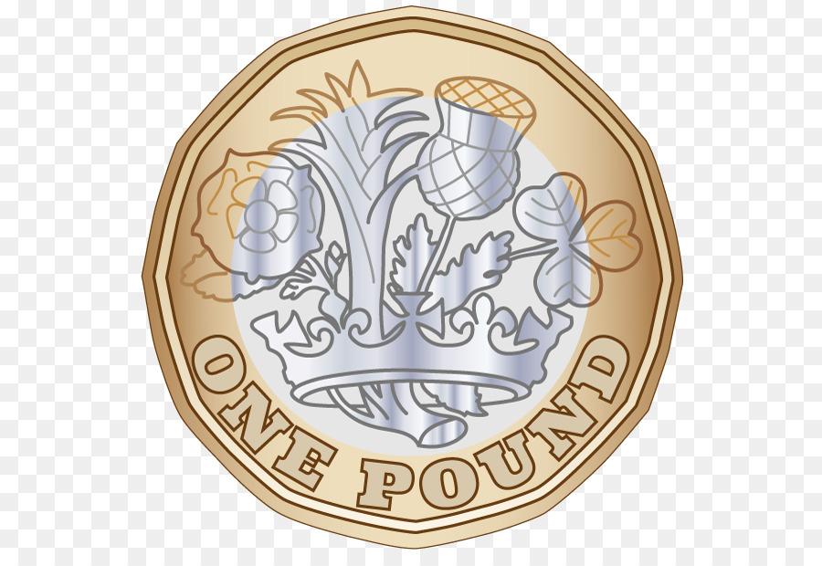 Coins clipart pound. Coin font money transparent