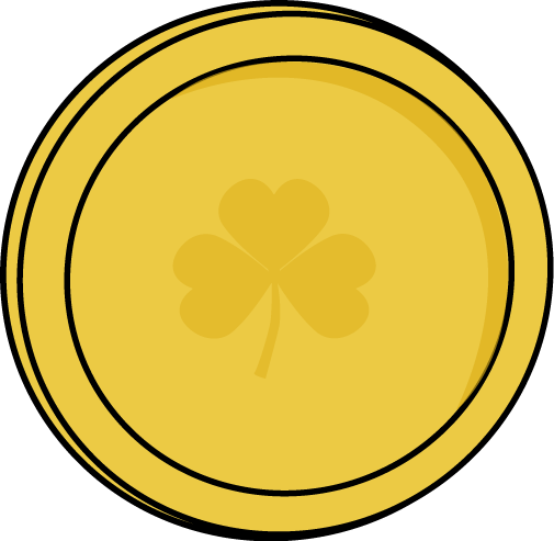 Coin clipart printable. Picture of gold coins