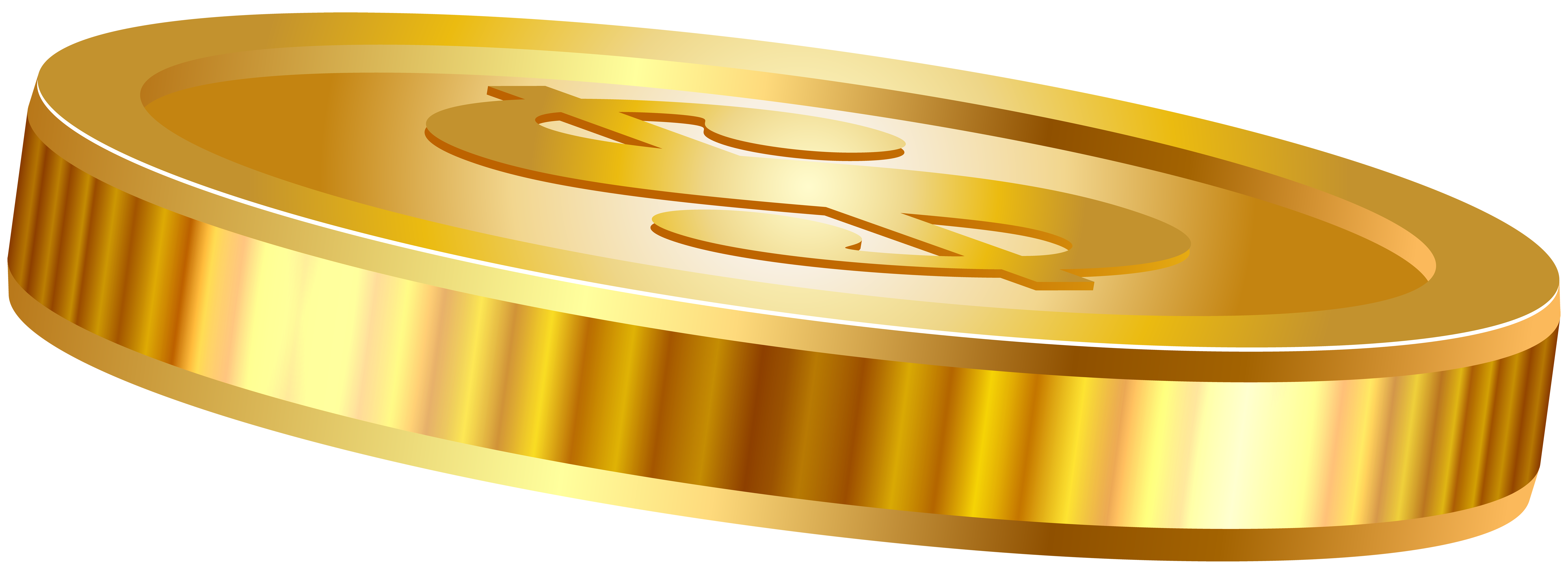 Coin clipart real gold. Transparent png clip art