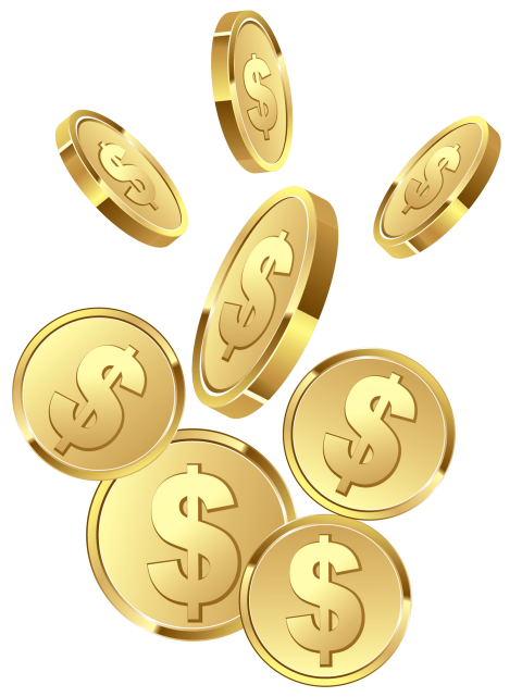 Png free images toppng. Coins clipart gold coin