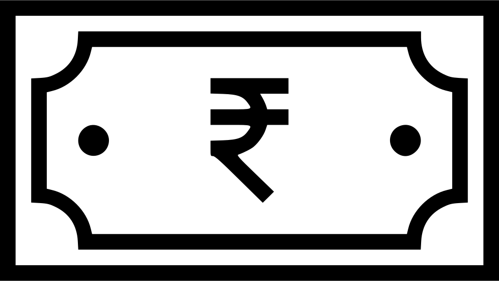 Finance clipart coin notes. Indian currency rupee note
