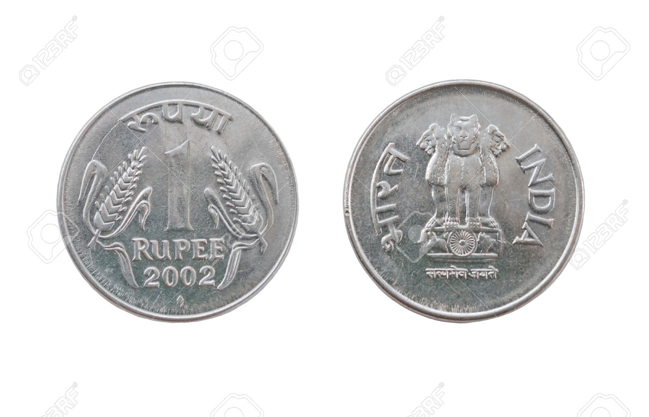 R clipart coin 1 rupee indian. One station