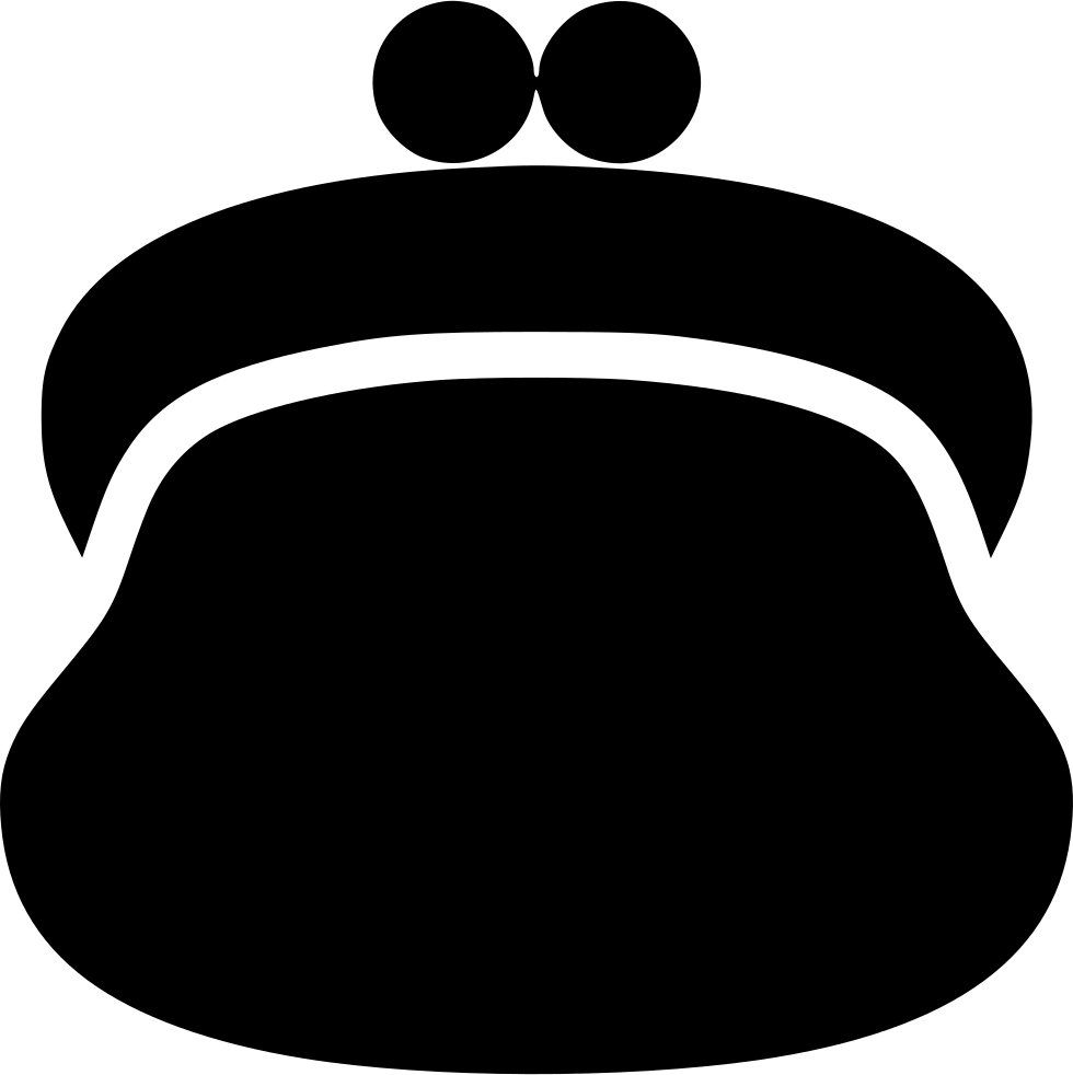 Coin clipart sack. Purse svg png icon
