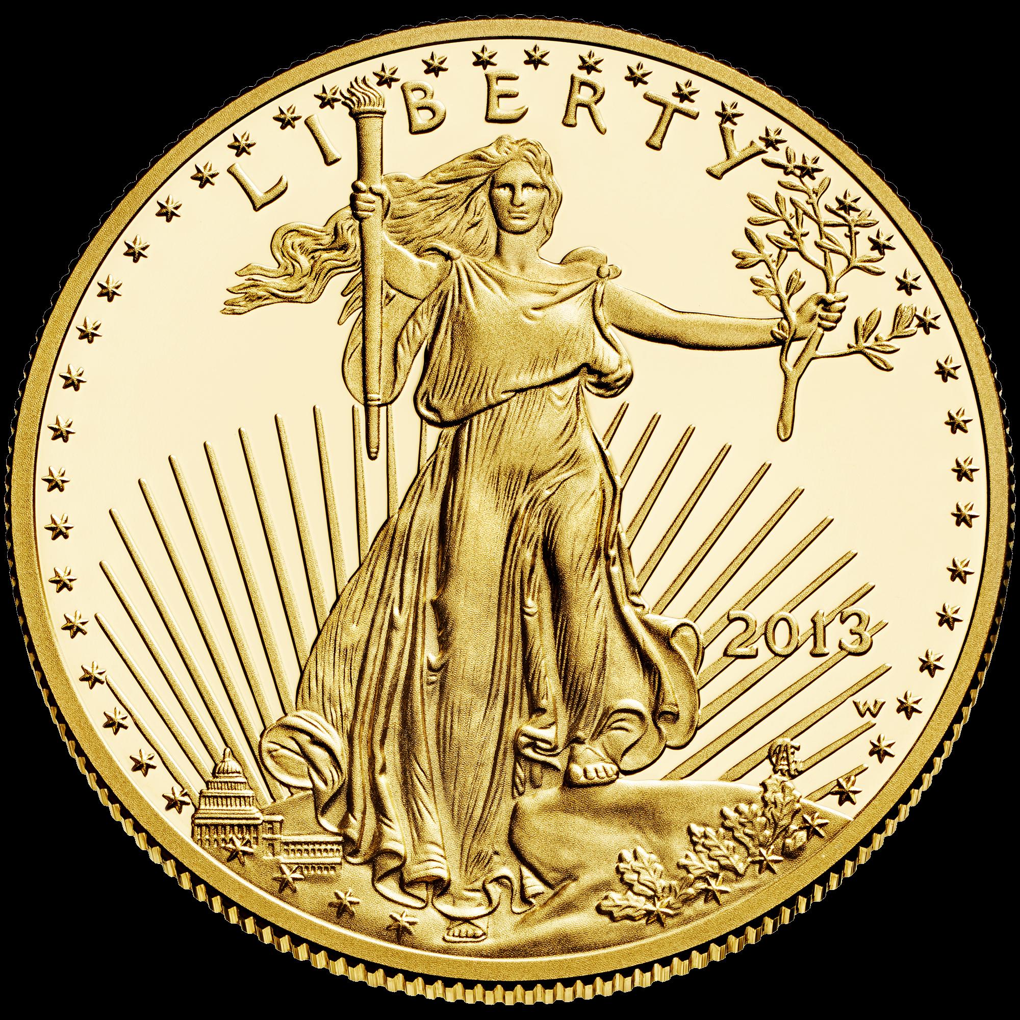 Precious metals gold nugget. Nickel clipart american coin