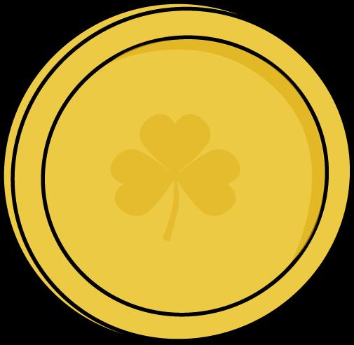 gold coins clipartlook. Coin clipart single coin