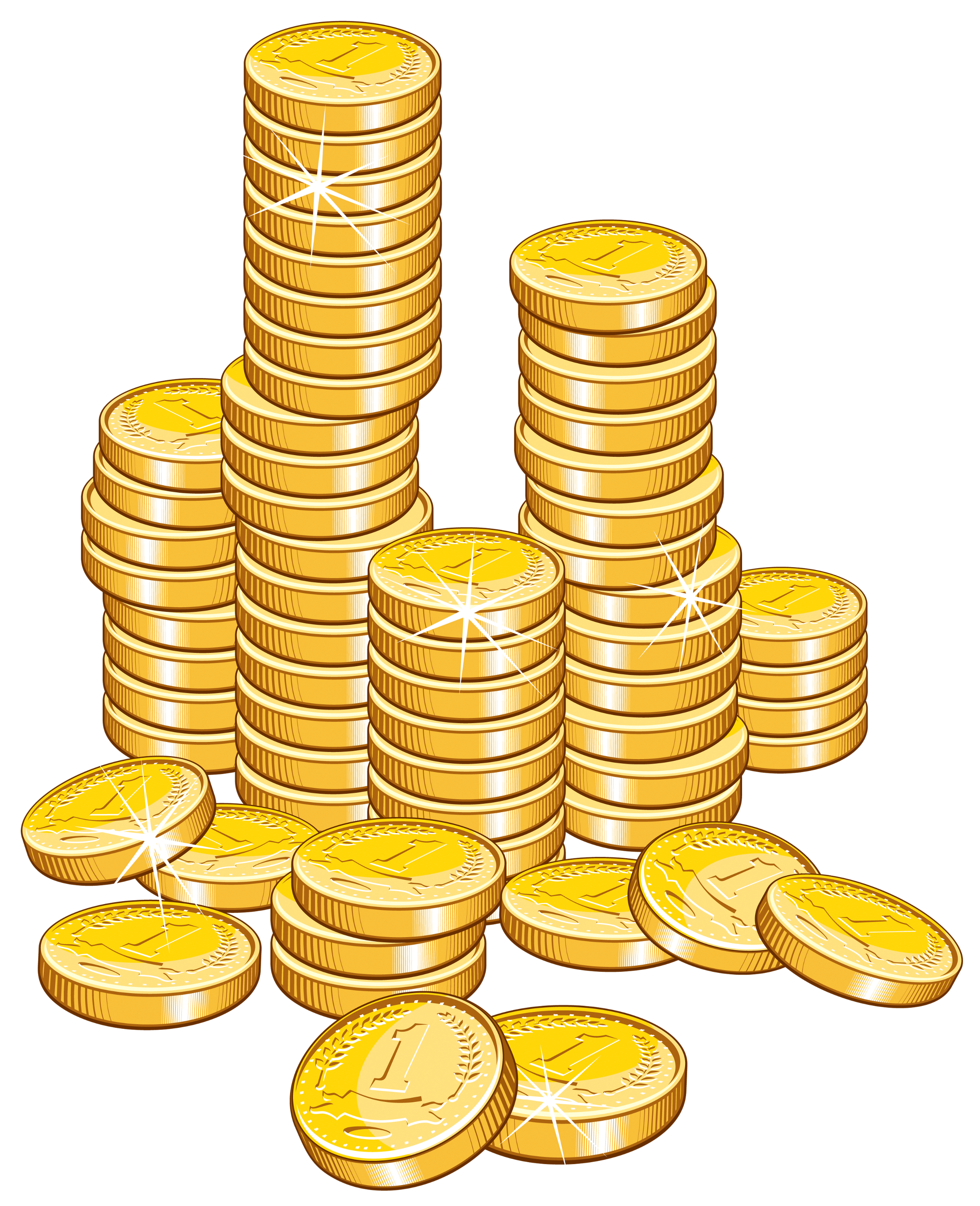 Coins clipart small money. Buy low sell high