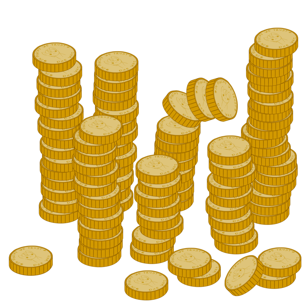 Coin clipart spare change, Coin spare change Transparent ...