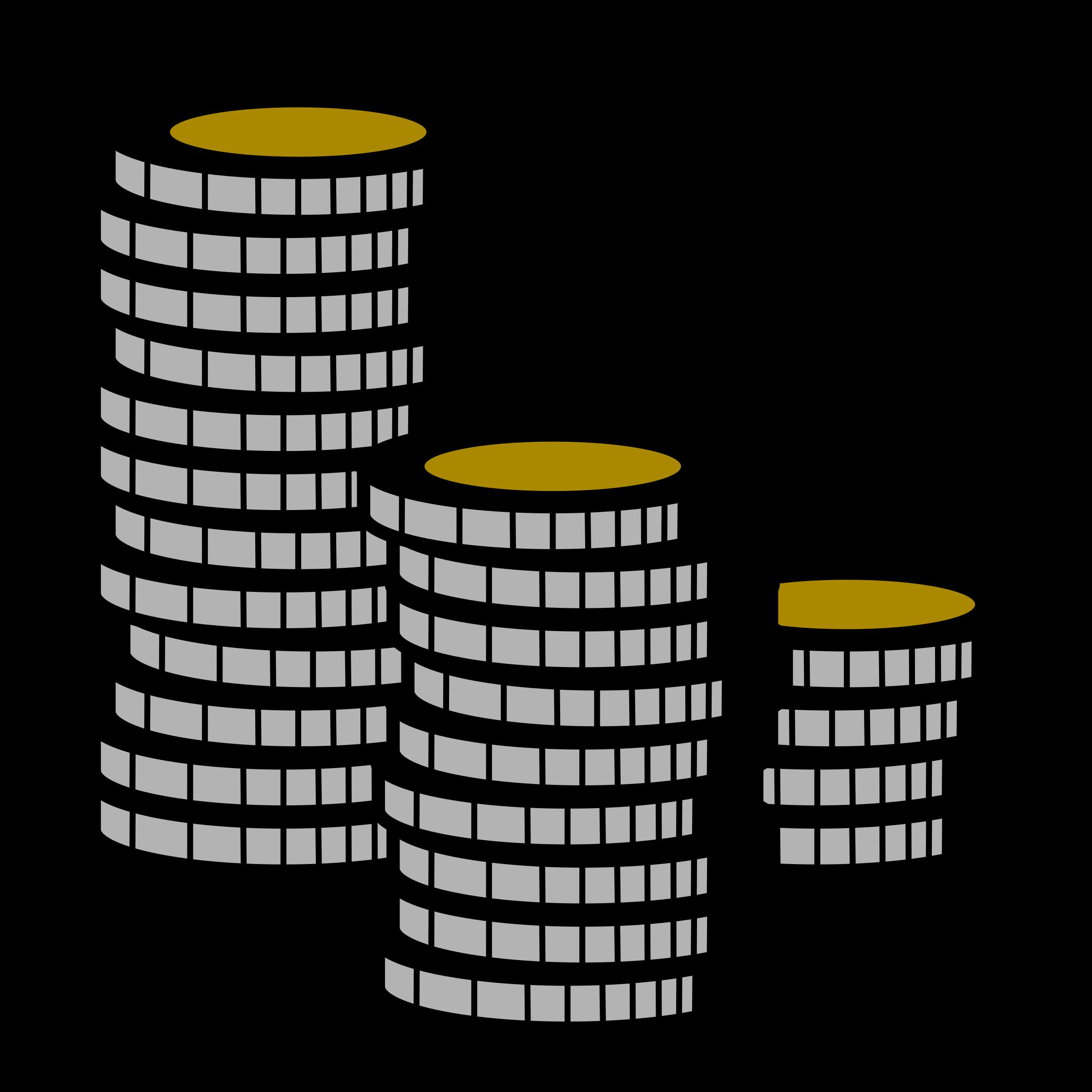 Big image png. Coins clipart line