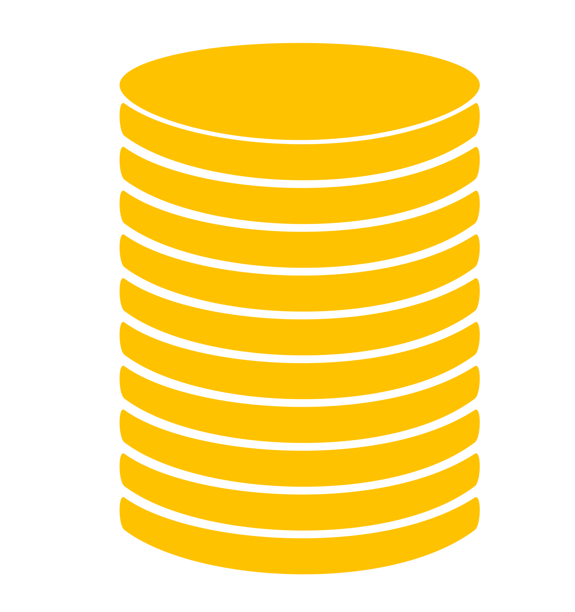 File stack icon gold. Coin clipart svg