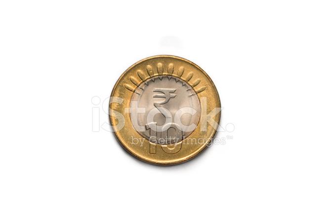India rupees stock photos. Coin clipart ten rupee