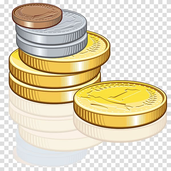 Coin clipart transparent background. Gold icon coins png