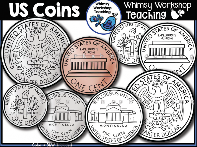 Coins clipart american coin. Free us cliparts download