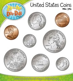 coins clipart american coin