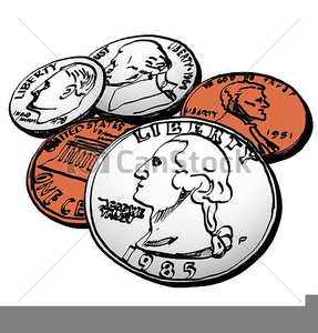 American money pictures free. Coin clipart vector