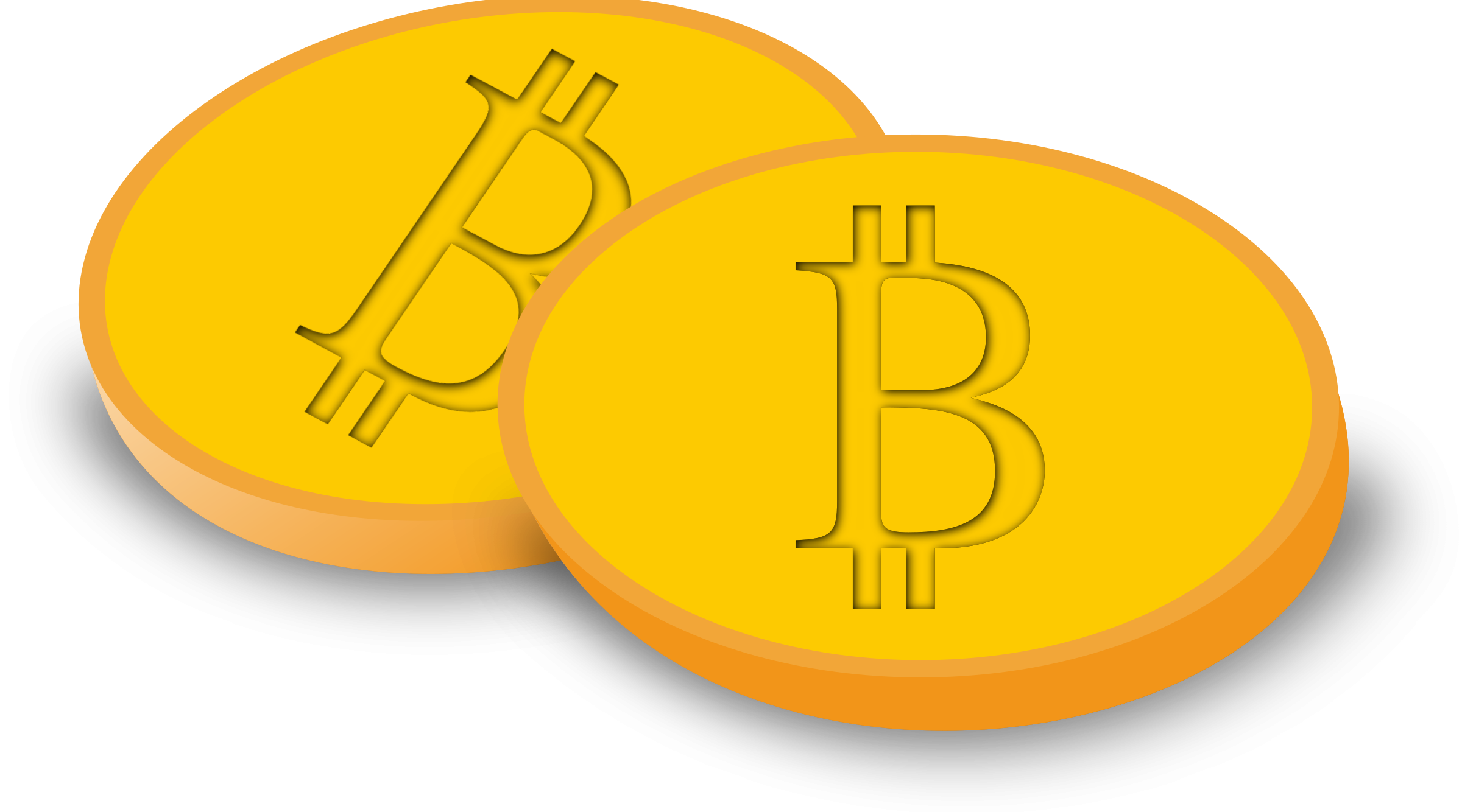 Bitcoin icons png free. Coin clipart yellow