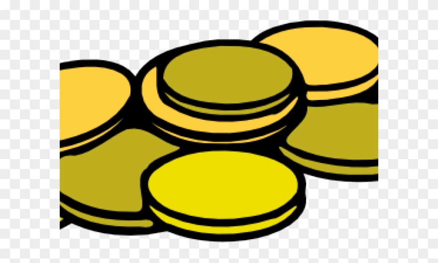 Coin clipart yellow. Clip art coins png
