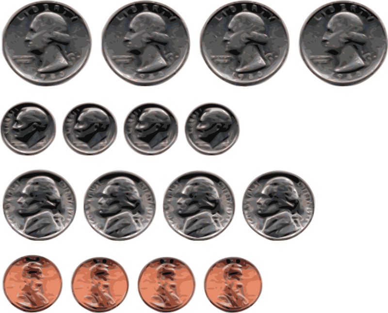 Us medium image png. Coins clipart american coin
