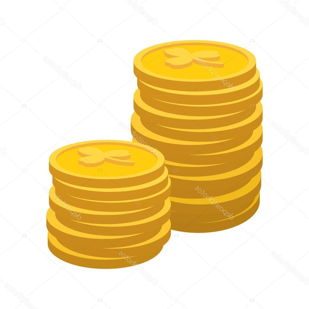Hd money vector pictures. Coins clipart cartoon