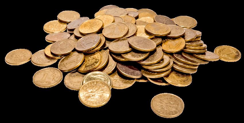 Money png free images. Coins clipart cash