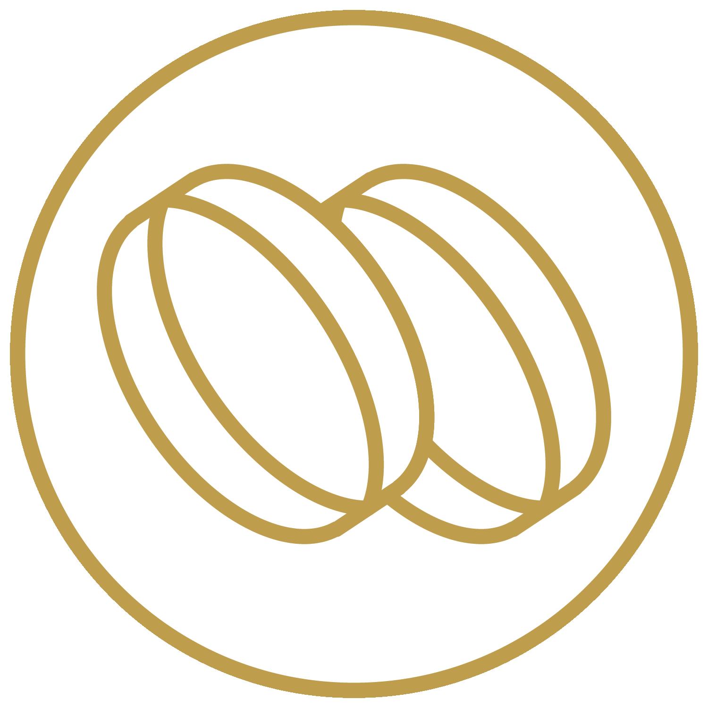 Shreenath finance education . Coins clipart gold loan