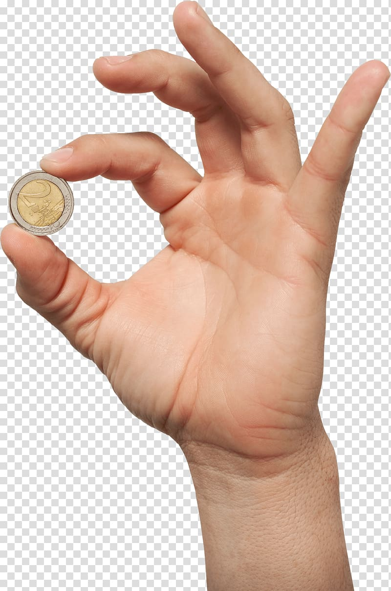Coins clipart hand clipart. Coin money in transparent