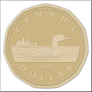 Coins clipart money canadian. O canada images