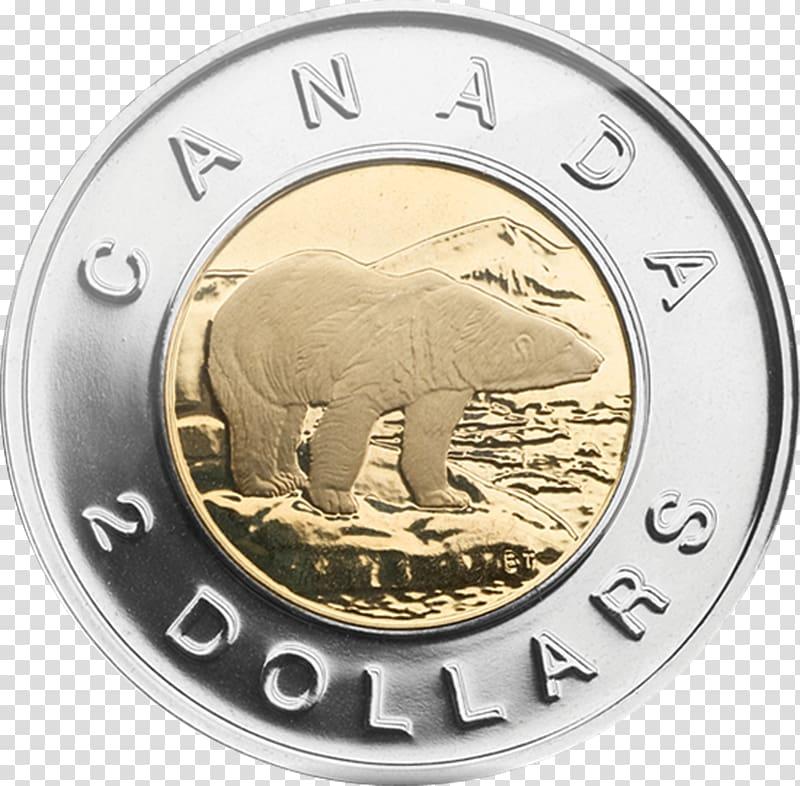 Canada toonie loonie dollar. Coins clipart money canadian