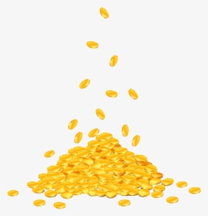 Falling png free hd. Coins clipart raining