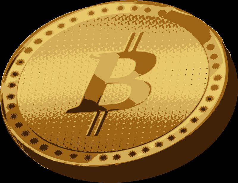 Coin clipart single coin. Bitcoin clear medium image