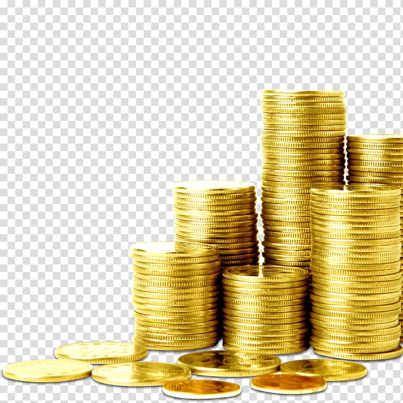 Stacks of gold colored. Coins clipart stacked coin