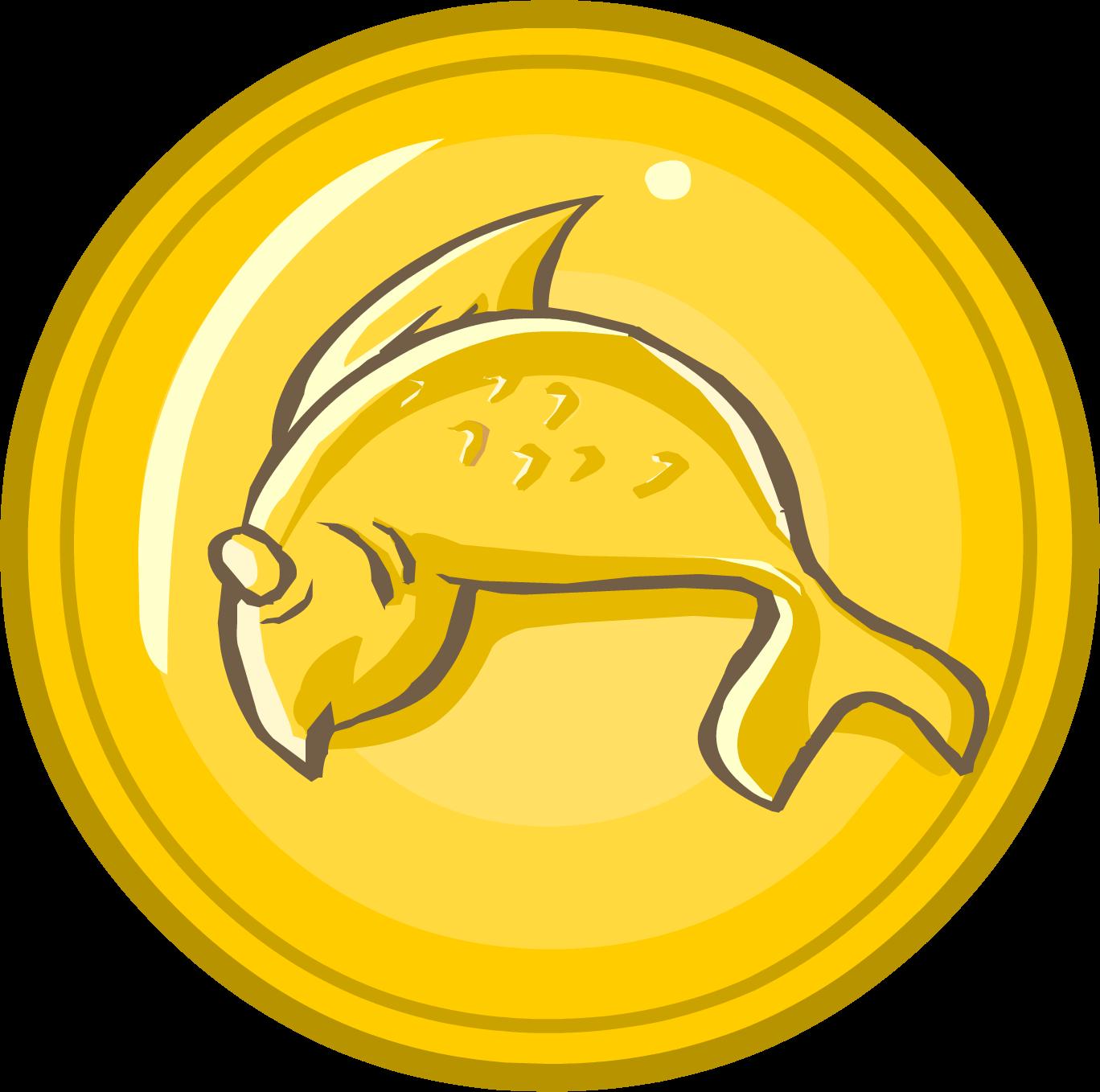 Coin club penguin wiki. Coins clipart token