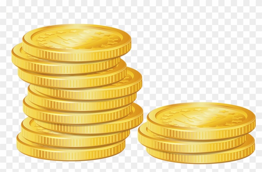 Free download clip art. Coins clipart yellow