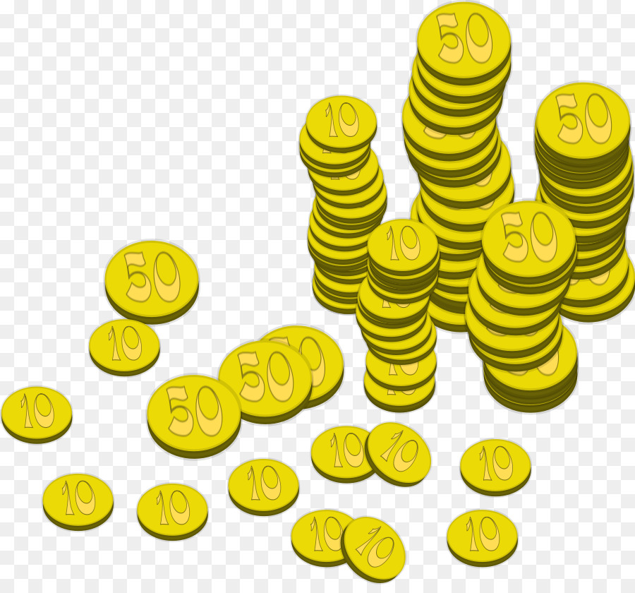 Coins clipart yellow. Pirate cartoon coin illustration