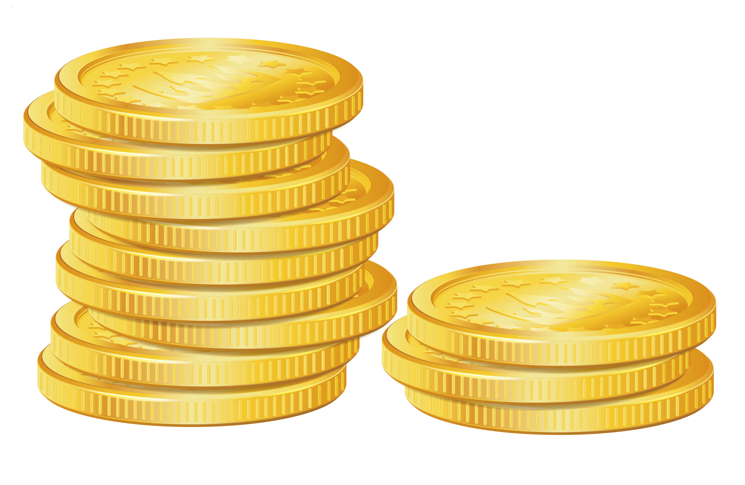 Gold clipart coin. Pile of coins png
