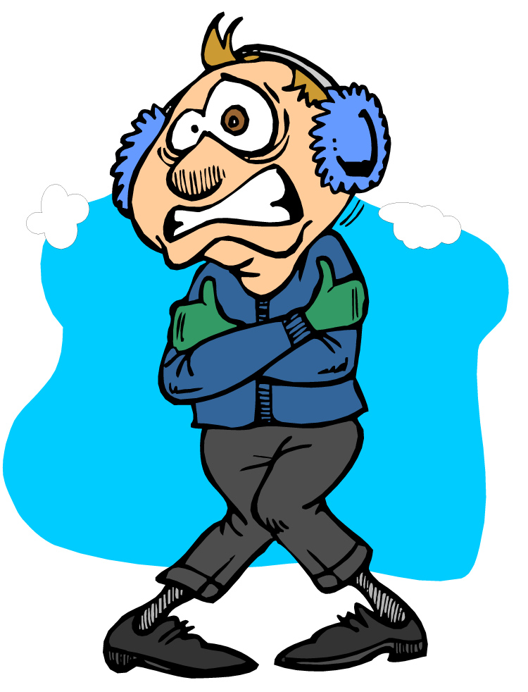 collection of freezing. Cold clipart