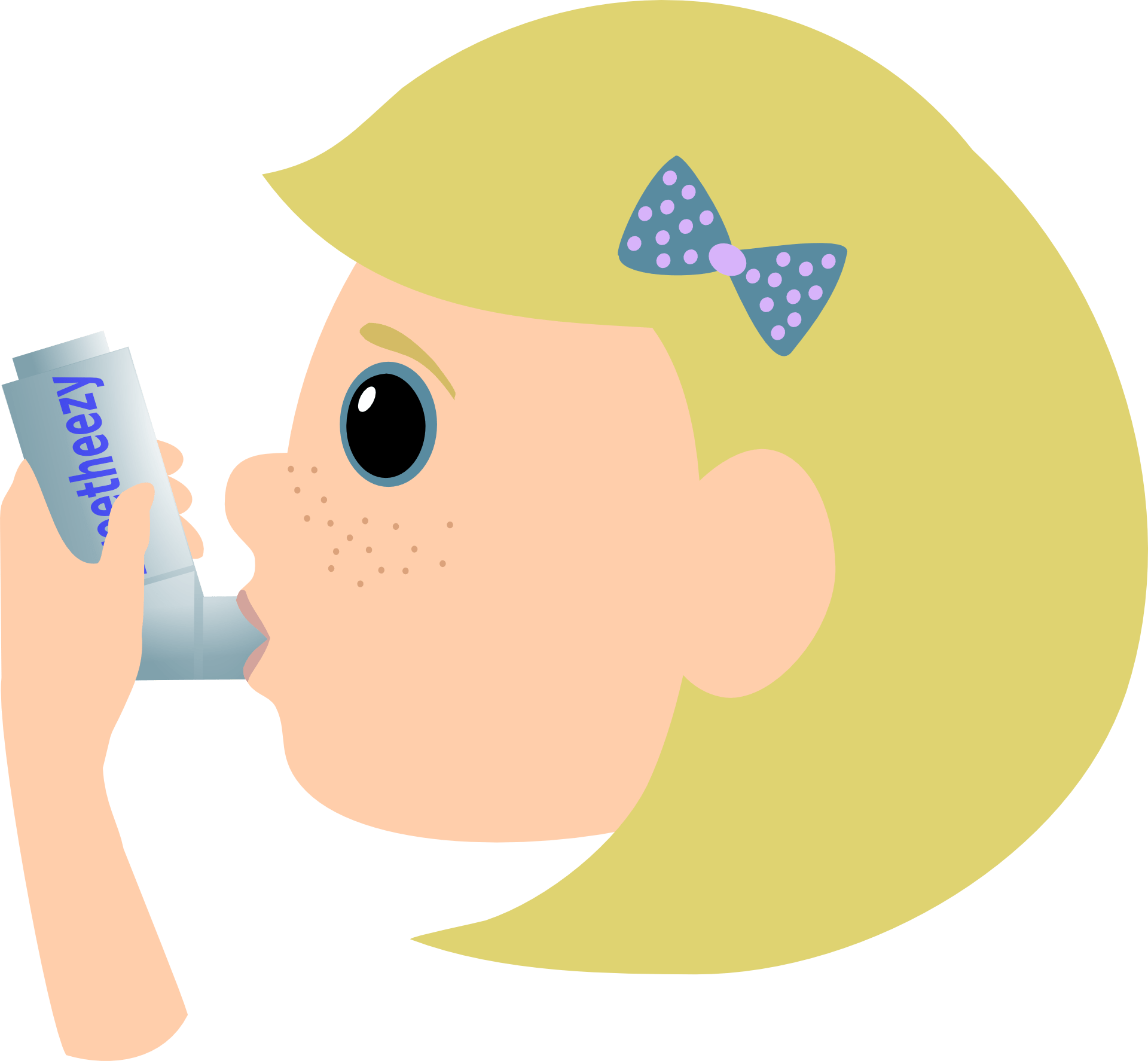 Lungs clipart bad lung. Asthma steroid inhalers learn