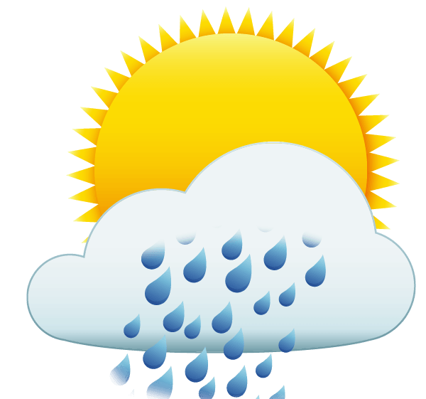 Free moving weather cliparts. Cold clipart cloudy