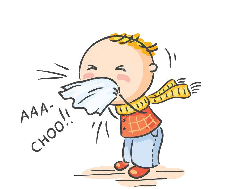Common cold season virus. Flu clipart influenza symptom