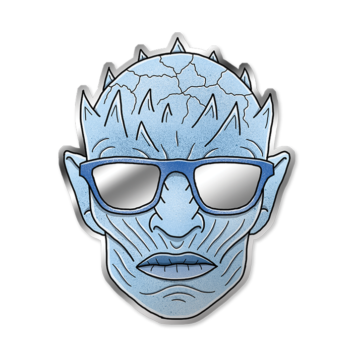 Cold as ice vinyl. Mirror clipart personal reflection