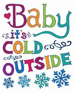 Cold clipart cold outside. Baby it s clip