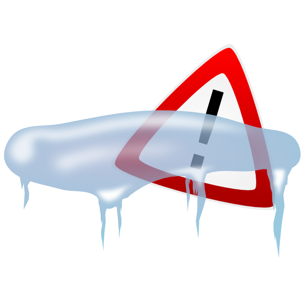 Freeze alert clip art. Ice clipart icy weather