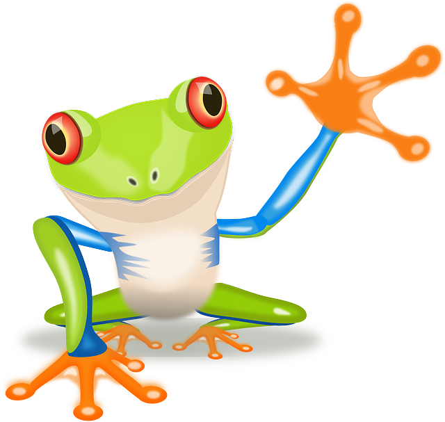 Gm food bc reads. Frog clipart book