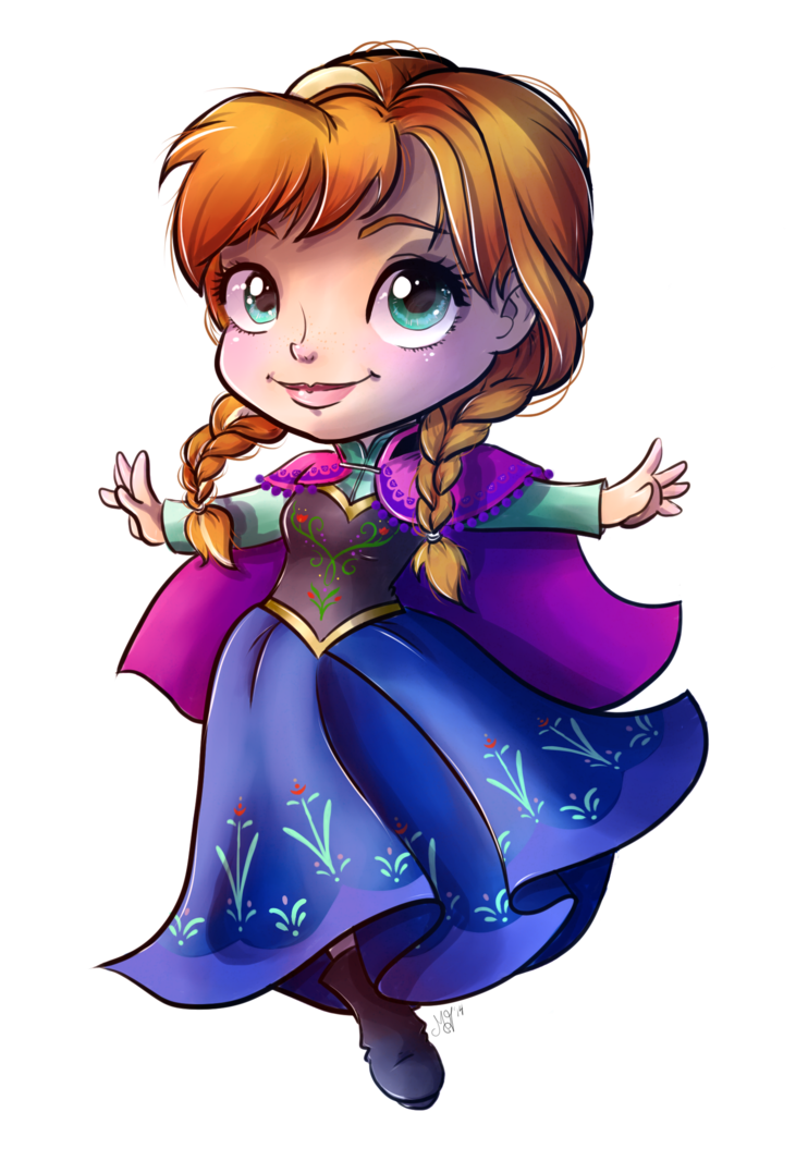 Cold clipart frozen person. Princess anna by danikamorningstar
