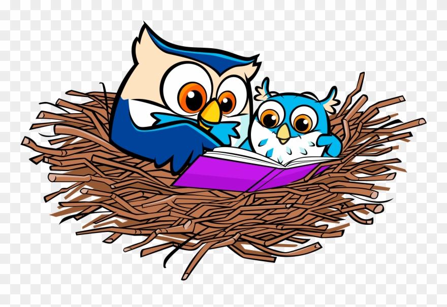 graphic free huge. Nest clipart owl nest