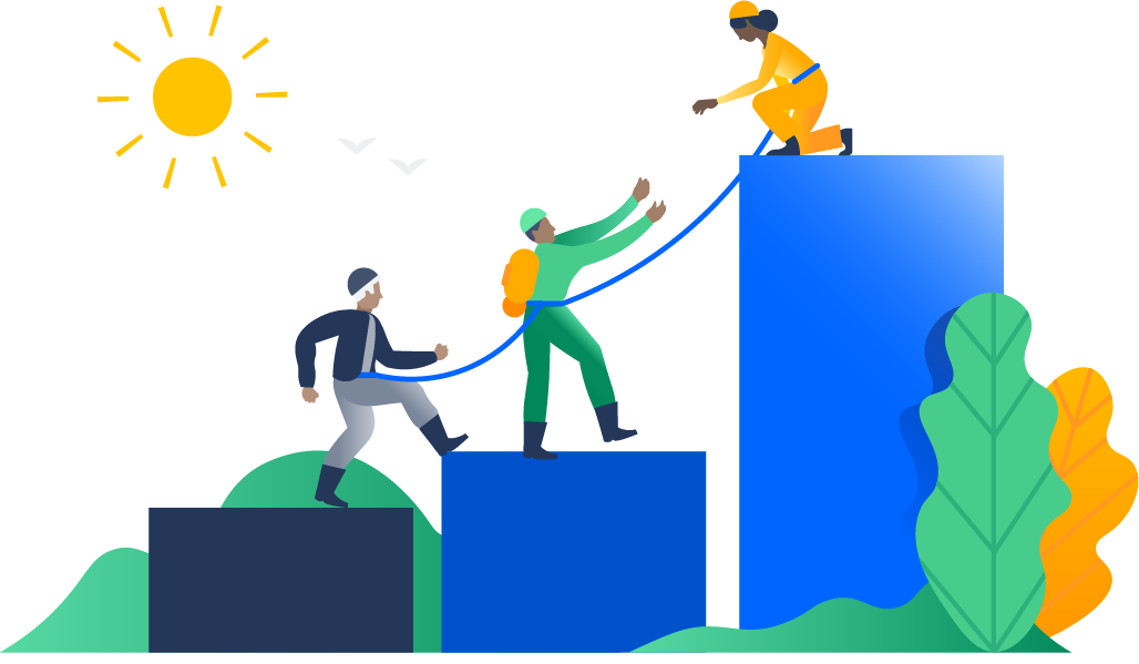 steps to convince. Collaboration clipart admin team