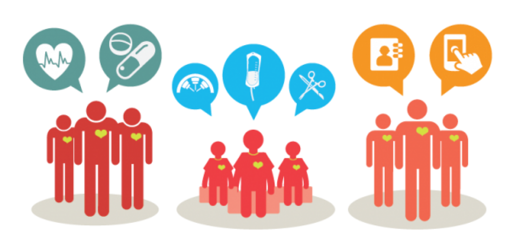 The digital patient is. Collaboration clipart admin team